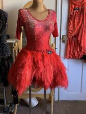 "Ballroom/Latin Competition DANCE dress ""Scarlet"""