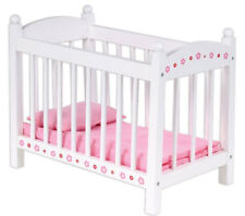 Wooden Baby Doll Bed