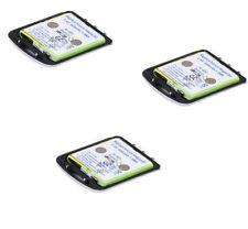 3 x Qualitäts Akku für AVAYA  Tenovis Integral D3 Mobile