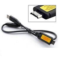 Usb Data Sync cargador Cable de plomo para Samsung Pl100 Pl120 Pl121 Pl150 Es65 Es60