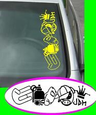 JDM Style nr1 Groß JDM Sticker aufkleber oem Power fun like Shocker