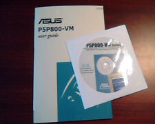 Asus P5P800-VM Motherboard - User's Guide Manual and CD and Sticker Intel 865G