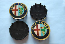 ALFA ROMEO COPRIMOZZO CERCHIONE WHEEL HUB CAPS EMBLEMS DIAM.60 mm