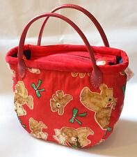 Qteen Handmade Cute Teddy Bear Animal Slouch Bag Hobo Purse Women Handbag Gift