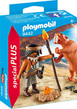 Playmobil Special Plus Caveman with Sabertooth Tiger 9442 (for Kids 4 and up)