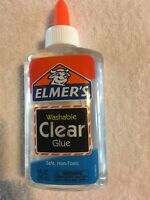 Elmers 5 OZ Washable Clear Safe Non Toxic Glue Ideal for Slime E305