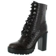 Steve Madden De Cuero Para Mujer Amor Lisa Zapatos botas de plataforma CRC BHFO 2373
