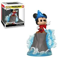 Deluxe Pop! Vinyl--Fantasia - Sorcerer Mickey Movie Moments US Exclusive Pop!...
