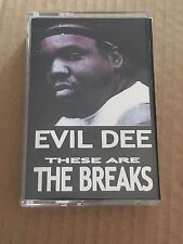 DJ EVIL DEE These Are the Breaks TAPE KINGZ NYC Cassette Mixtape 90s Hip Hop