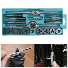 20pcs/lot Tap and Die Set with Small Tap Twisted Hand Tools Thread Plugs Taps