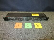 ALESIS COMPRESSOR LIMITER GATE 3630 DUAL CHANNEL DJ MUSIC AUDIO RACK USED