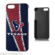 Apple iPhone 5 SE 5/5S Houston Texans Licensed NFL Case  - SAME DAY SHIP@@@