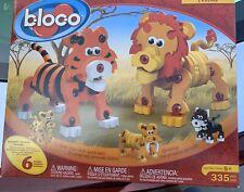 VGC BLOCO Wildcats (Tiger, Lion) soft foam building set