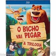 Blu-ray Open Season Trilogy [ English + Portuguese + Others ] Region ALL