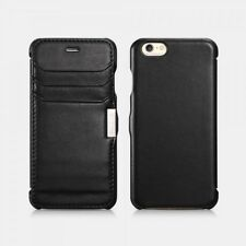 iPhone 6/6S Etui de luxe Card Slot Noir