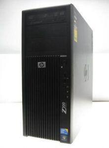 HP Z200 Workstation Xeon Quad Core X3430 CPU @ 2.4GHz 4GB RAM, 2x 500GB HDD