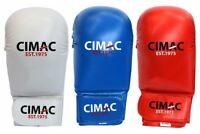 Karate Mitts Gloves Sparring No Thumb Competition Red Blue Adult Kids Taekwondo