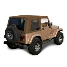 Jeep Wrangler Tj Soft Top Replacement 1997 2002 With Tinted Windows Spice Denim Fits Wrangler