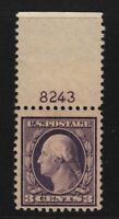 1917 Sc 501 MNH plate number single, Hebert CV $76