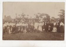 Picnic Party Dover Kent 1909 RP Postcard JH Gibson 614b