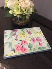Laura Ashley WATERCOLOUR FLORAL 4x Placemats Table Mats Set - FREE SHIPPING
