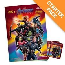 Panini Road to Marvel Avengers Endgame Starter Pack 22 Stickers  4 Cards holder