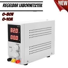 Labornetzgerät Labornetzteil Regelbar Netzgerät Netzteil 30V 10A LW-K3010D