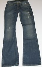 NWOT ABERCROMBIE & Fitch Womens Madison Flare Distressed Low Rise Jeans 00R