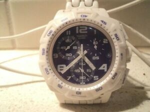 Swatch 2009 chronograph watch 4 jewels