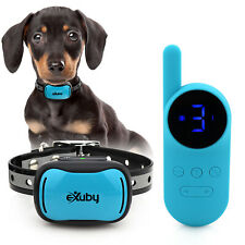 eXuby - Tiny Shock Collar for Small Dogs 5-15lbs - Smallest Collar on the Market