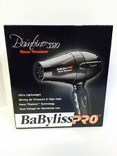 BaByliss PRO Nano Titanium Bambino 5510 Compact Dryer - Dual Voltage