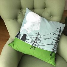 Cooling towers & pylons feather filled cushion