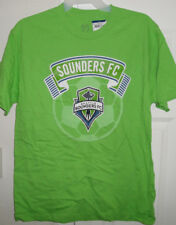 Seattle Sounders FC Rave Green Men's OFFICIAL LICENSED MLS T-Shirt *NEW*