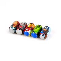 5 Marvel Avengers Jumping Beans Avenger Iron Man Captain America Hulk Boys Gift