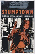 STUMPTOWN #1 | Vol 1 | 1st Print | Greg Rucka | ABC TV Show | HTF | 2009 | VF/NM