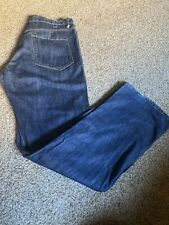 Rogan men's Jeans Made in USA 100% Cotton Size 36 X34 Loose Excellent Condition.