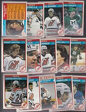 1982 - 83 OPC Team SET Lot of 14 New Jersey DEVILS NM+ o-pee-chee Chico LEVER