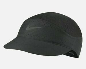 Nike Aerobill Tailwind Featherlight Mesh DriFit Running Cap NEW Black CQ9366-010