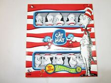 NEW Vtg DR. SEUSS HOLIDAY String Light Set THE CAT IN THE HAT Camper In/Out Door