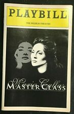 BOSTON PLAYBILL - Nov 1996 - MARIA CALLAS MASTER CLASS - Faye Dunaway   b3