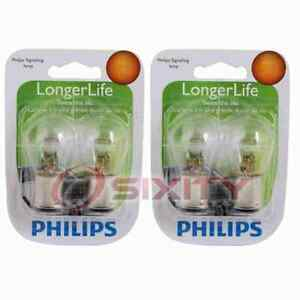 2 pc Philips Front Turn Signal Light Bulbs for GMC C1500 C2500 C3500 ou
