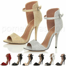 High Heel (3-4.5 in.) Party Textile Shoes for Women