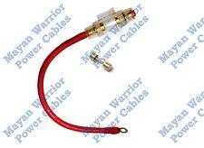 4 AWG Gauge Installgear True Spec Cable Inline Fuse Holder Block Battery 12 inch
