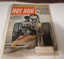 1968 Hot Rod Car Racing Automotive Magazine Race Driver Dyno Test Nascar VA 500
