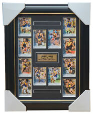 West Coast Eagles 2018 Select Card Team Set Framed Nic Naitanui Darling Kennedy