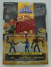 "Judge Dredd Mega Heroes Mattel 1995  ""Judge vs Anti-Judges""  Pack#4"