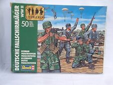 old Revell 2500, WWII German Paratroopers, 1/72