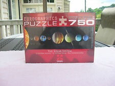 The Solar System 750 Piece Jigsaw Puzzle By Eurographics -New & Factory Sealed!