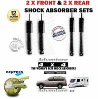 FOR HYUNDAI TERRACAN 2001-> 2X FRONT & 2X REAR FOR TOWING SHOCK ABSORBER SET