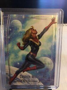 2016 Upper Deck Marvel Masterpieces Tier 3 #69 CAPTAIN MARVEL /999